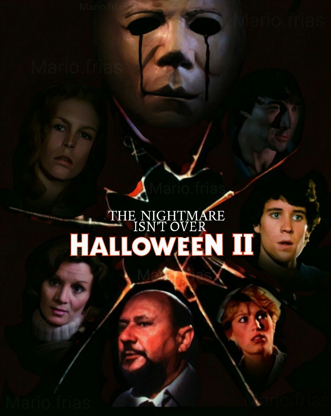 Halloween 2 Horror Movie Slasher Poster | horror fan poster ...