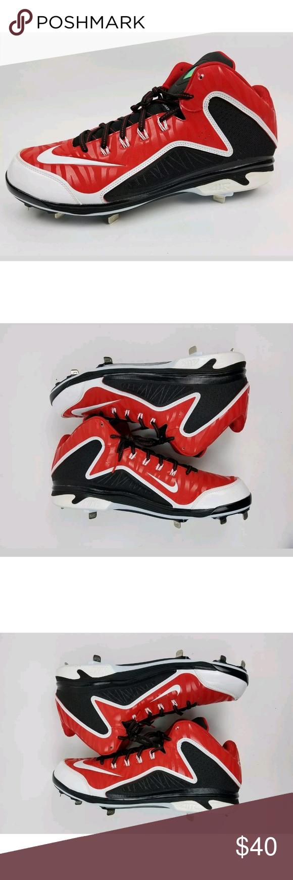 Nike Air Swingman Mvp 2 Metal Baseball Cleats Baseball Cleats Nike Metal Baseball Cleats