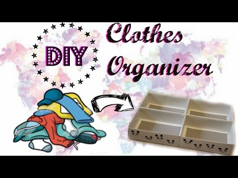 Diy Clothes Organizer