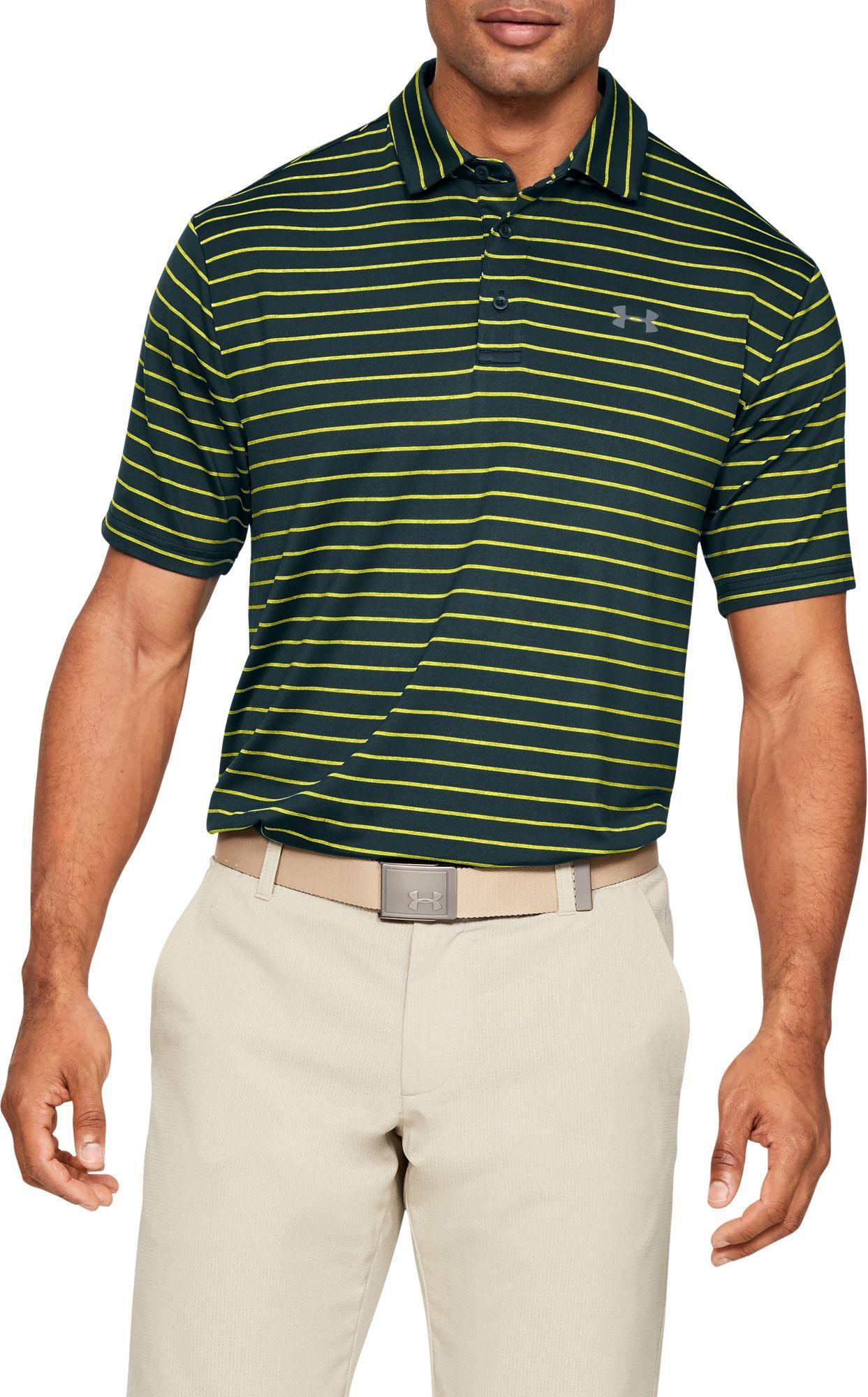 8e1e66aec Under Armour Men's Playoff 2.0 Tour Stripe Golf Polo, Size: Small ...