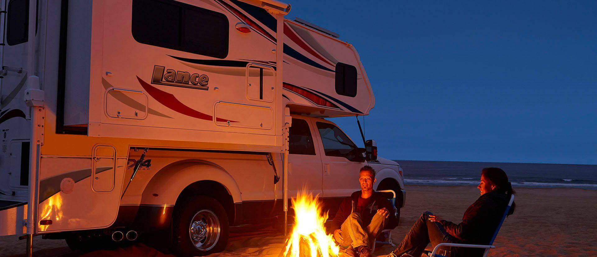 Lance Truck Campers Lance Camper Rv truck camper