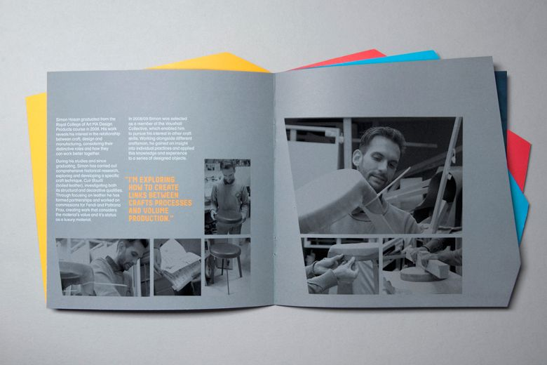 Design Museum, Brochure u2014 Alphabetical Studio Graphic design - studio brochure