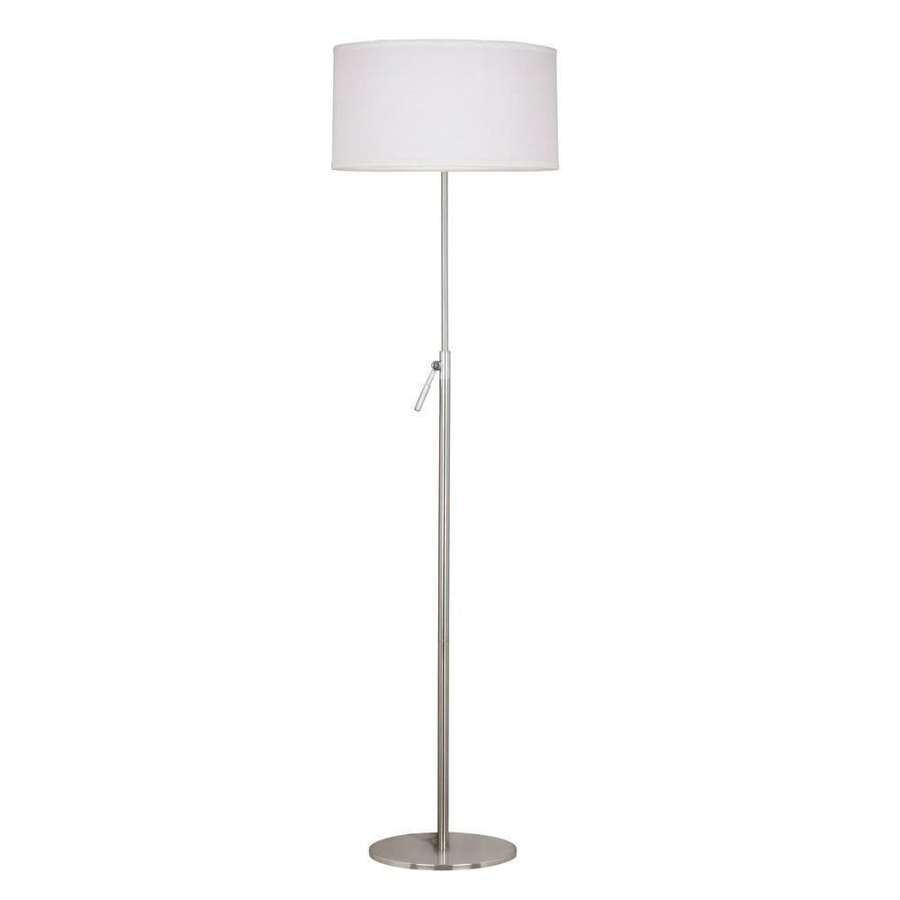 Wondrous Kenroy Home Propel 50 68 In Brushed Steel Floor Lamp Got Download Free Architecture Designs Crovemadebymaigaardcom