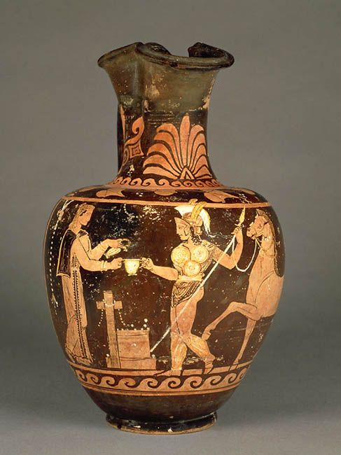 Oenochoe A Figures Rouges 310bc Relics From Antiquity Pinterest
