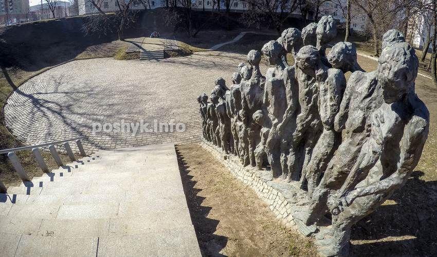 Памятник евреям минск изготовление памятников в туле щелково