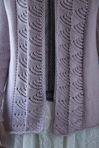 Colonnade Jacket - Media - Knitting Daily