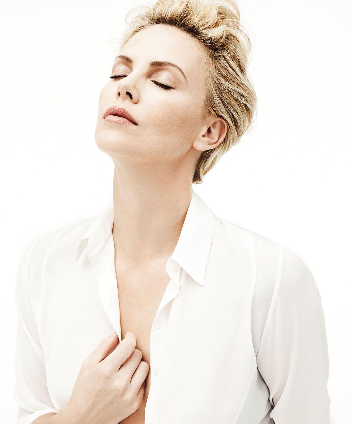 Charlize Theron photographed by Karim Sadli for 2014 Dior
