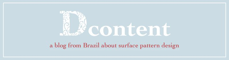A blog from Brazil about surface pattern design. Um blog brasileiro sobre design de superfície.  http://dcontent.tumblr.com