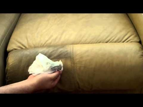 How To Easily Clean Your Leather Couch Sofa For Pennies Youtube Stainless Steel Cleaning White Leather Sofas Leather Couch