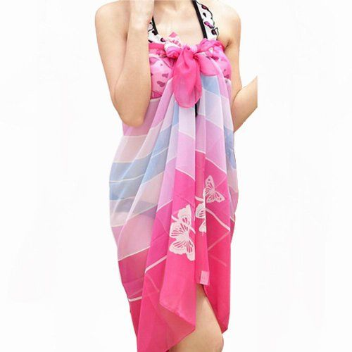 World Pride Chiffon Floral Pareo Dres... $5.03 #bestseller