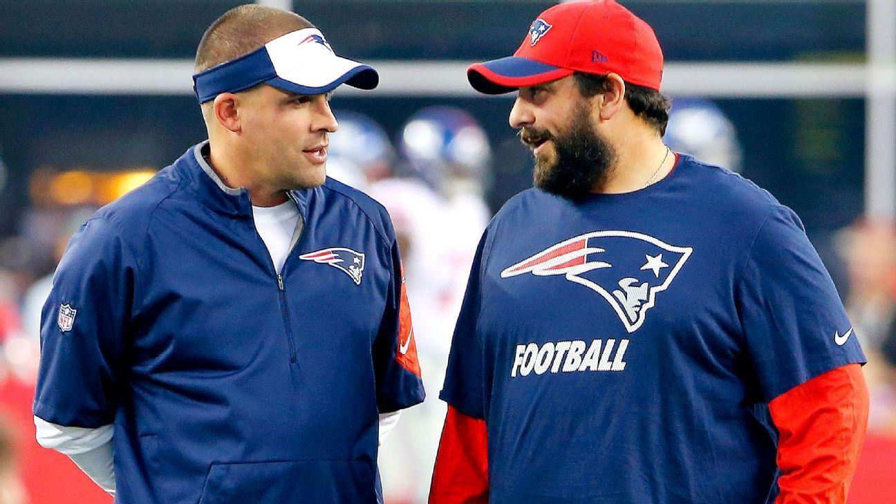 Josh McDaniels, Matt Patricia have Patriots rolling, as