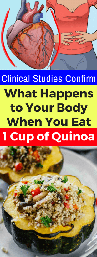 Clinical Studies Confirm What Happens To Your Body When You Eat 1 Cup Of Quinoa!!!  #lifestyle  #fit...