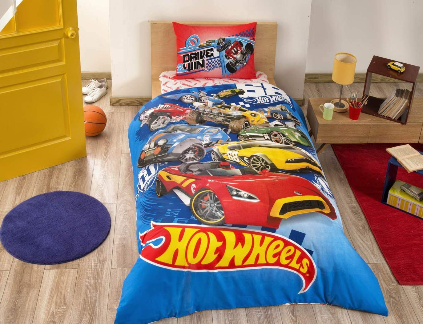 Kids Duvet Cover Set New Licensed 100 Cotton Cars Twin