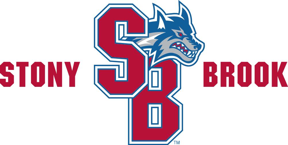 Stony Brook Seawolves College Logo Custom Basketball Stony Brook University