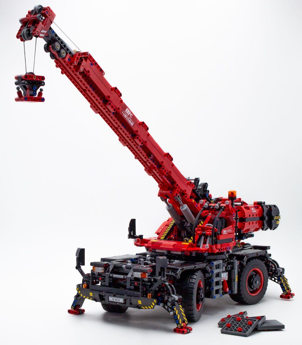 Lego ® Technic 42068 aéroport pompier NOUVEAU /& NEUF dans sa boîte modèle 2-in-1
