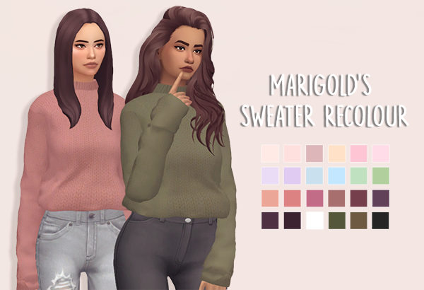 Knit Sweater Retexture And Recolour With The Holiday
