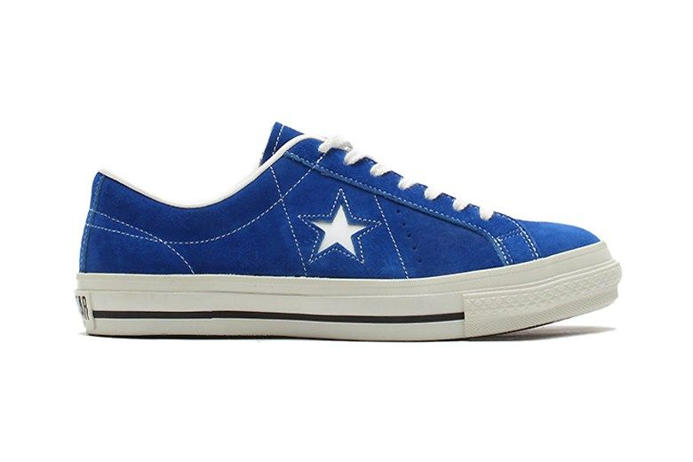 225d173d41 Converse Japan unveils a vintage One Star J Suede silhouette in a new blue  and white iteration. The