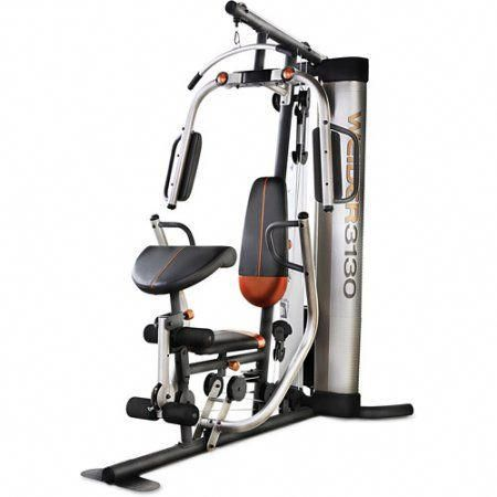 weider 3130 125 lb stack home gym homegymproducts  at
