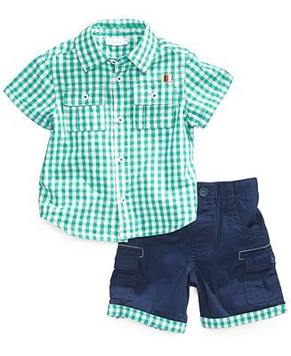 Pull-on Shorts 0-24 Months First Impressions Baby Boys