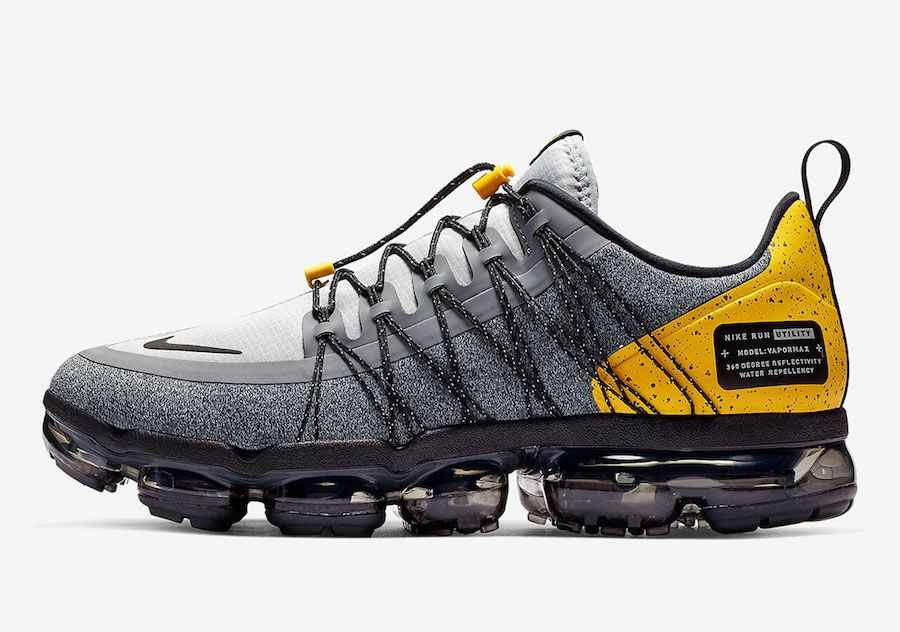 46762a1570c Nike Air VaporMax Run Utility Wolf Grey Amarillo AQ8810-010 ...