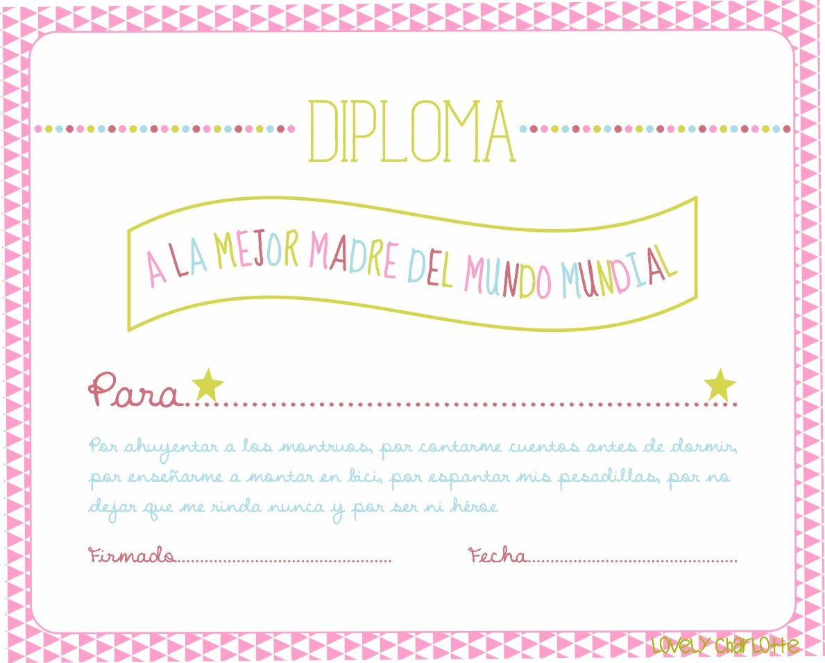 DIA+DE+LA+MADRE+DIPLOMA.jpg (1189×955)   Fondos y tramas   Pinterest ...