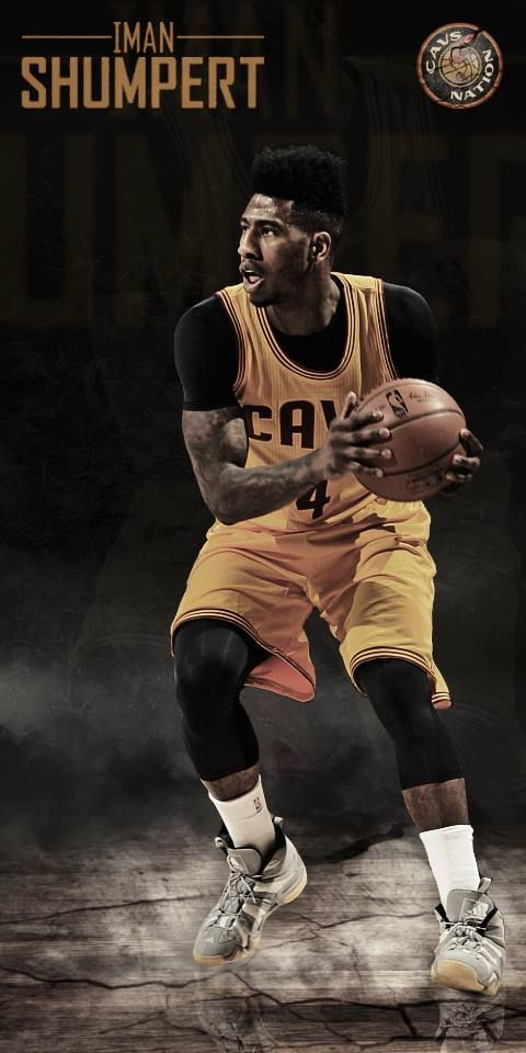 """I take out the most aggressive scorer on the other team."" - Iman Shumpert  Get the ""Shump Daddy"" wallpaper today!"