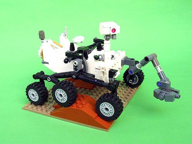 Curiosity Ganha Verso Montada Com Peas De Lego Rover Pinterest