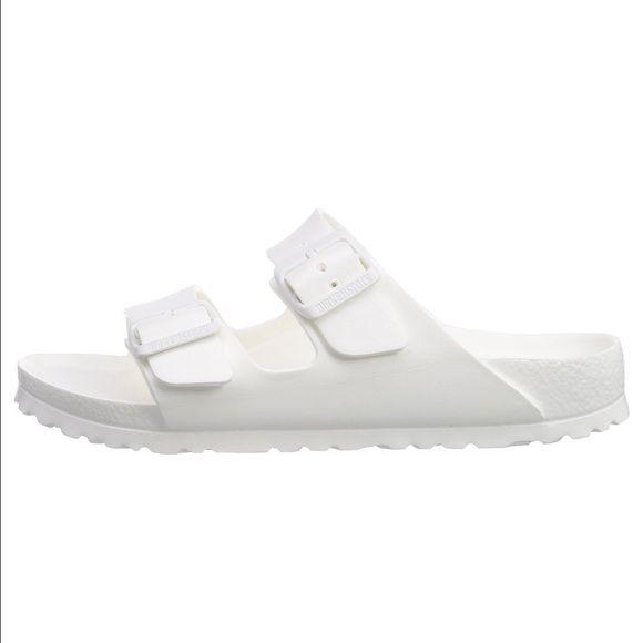 Sandales En Caoutchouc Blanc ATP2wnST