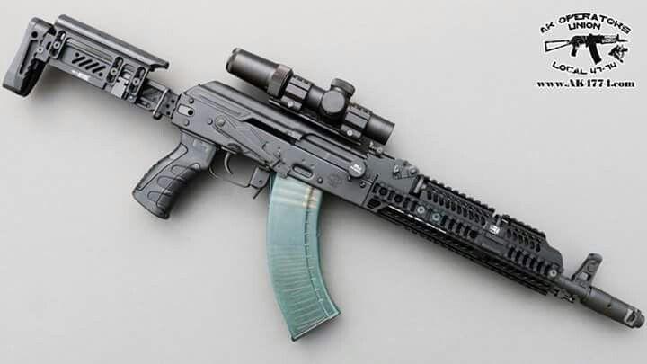 Modern AK. AKM With Zenitco Stock, Upper And Lower