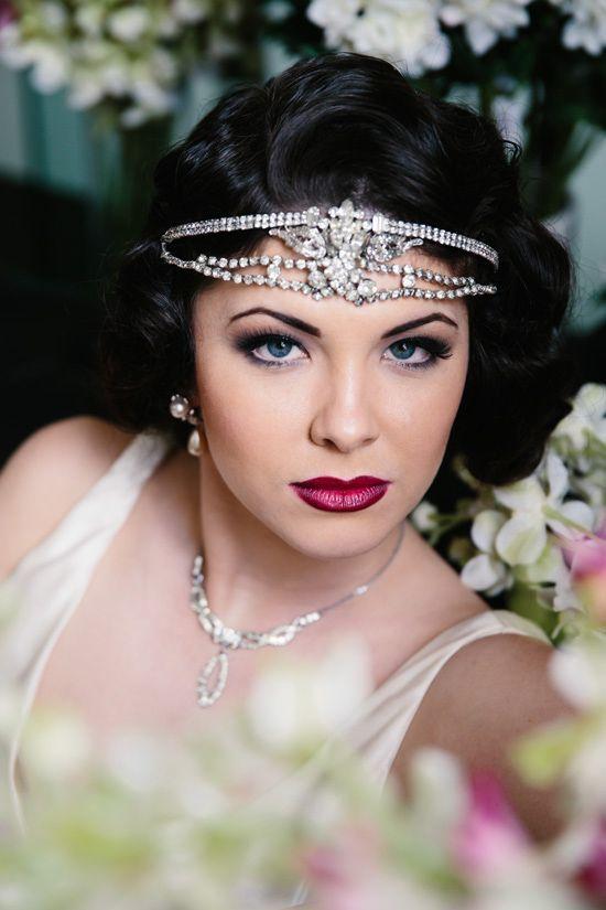 Diamonds are a girls best friend #Roaring20s #Theme #Wedding