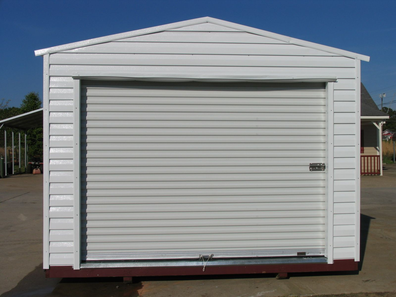 PRE BUILT ALUMINUM Storage Buildings And Sheds (