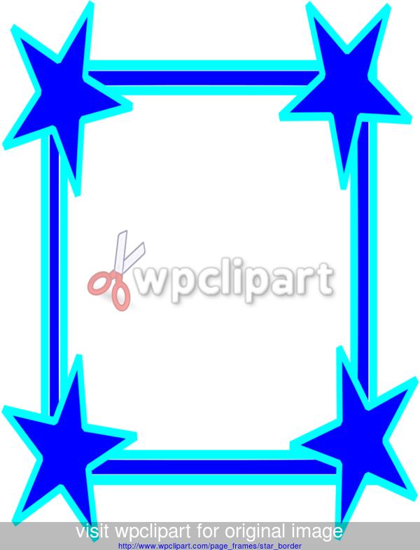 star border clip art big stars border cool public domain clip rh pinterest com blue star border clipart blue star border clipart