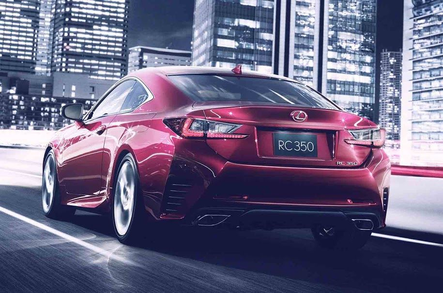 The new Lexus RC350 Not one of the many cars and vans