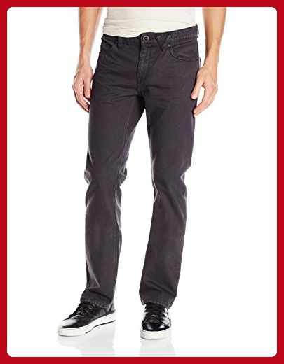 a65edc353f Volcom Men's Solver Stretch Denim Jean, Charred, 28X32 - Mens world (*Amazon  Partner-Link)