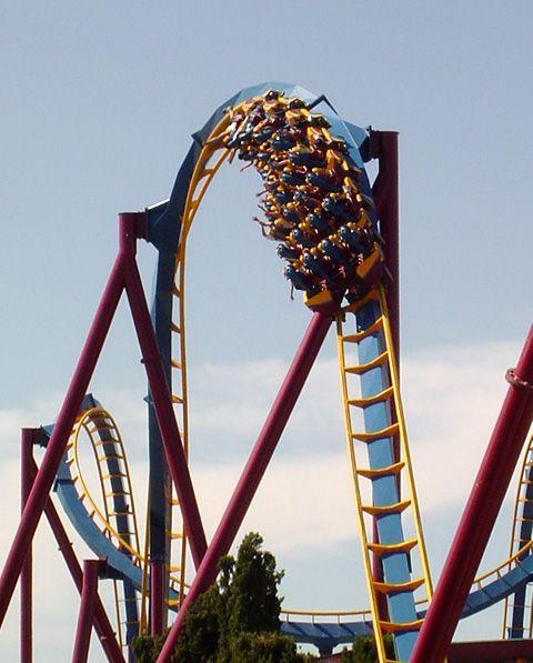 Scream Photo From Six Flags Magic Mountain Crazy Roller Coaster Roller Coaster Ride Roller Coaster