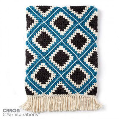 Free Easy Crochet Afghan Pattern   Crochet ~ Afghans / Blankets ...