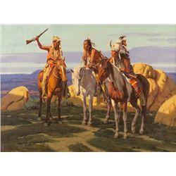 Paul Mann, oil on canvas  In the Distance kp