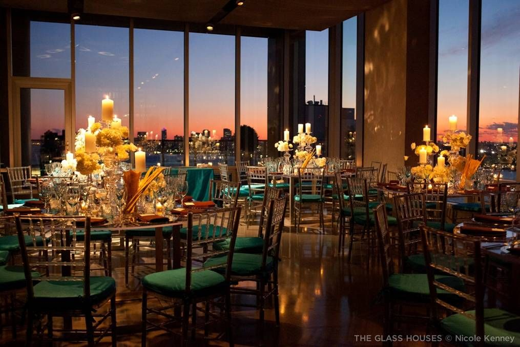 Wedding At The Glasshouses In Nyc Weddings Pinterest Wedding
