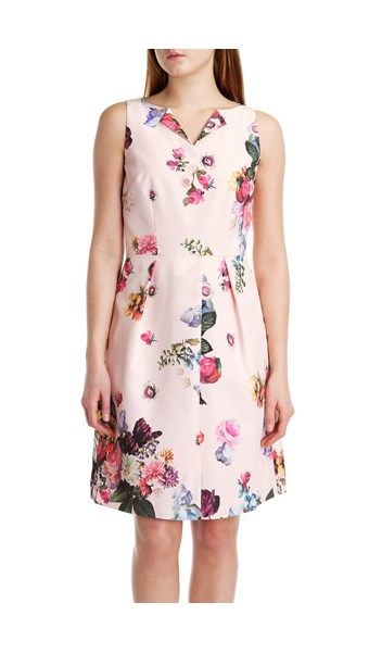 e3c1822c37a7dc Ted Baker s new season  Deavon  Oil Painting Print Dress is all the right  kinds