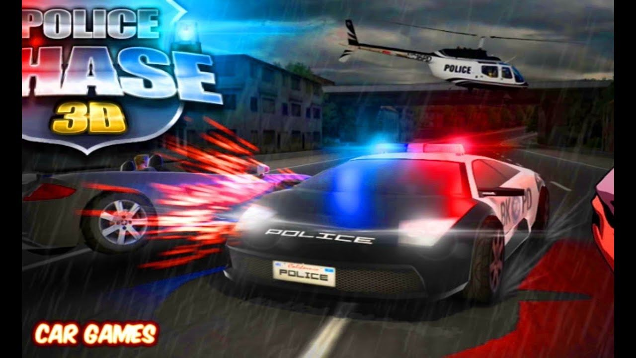 Police Chase 3D Car Game Racing Cartoon for Kids | By Game\'s World ...