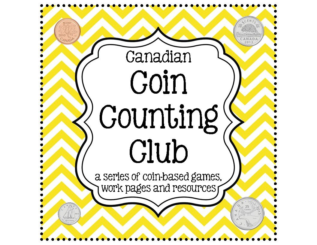 Money Math Centers Canadian Version