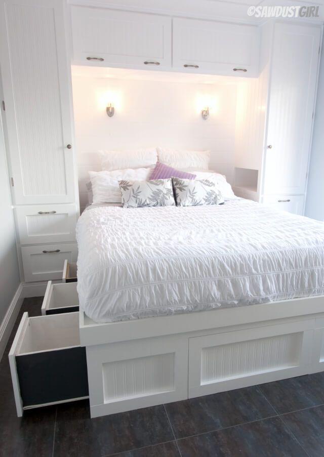 comment amnager une petite chambre coucher 15 ides inspirantes