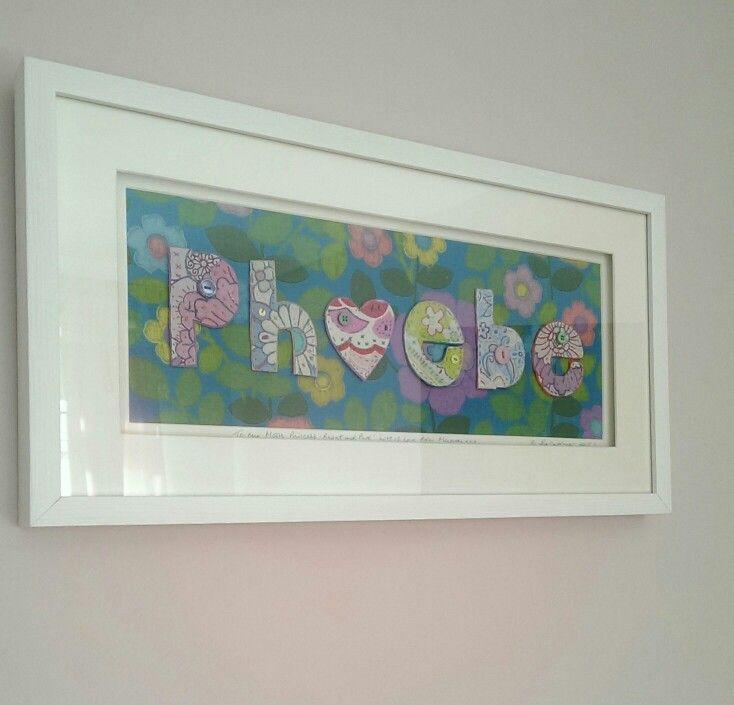 'Phoebe, Moon Princess, bright & pure'.