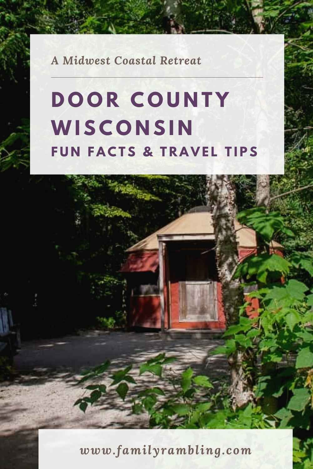 Door County Wisconsin Fun Facts In 2020 Road Trip Fun Family Travel Destinations Midwest Travel