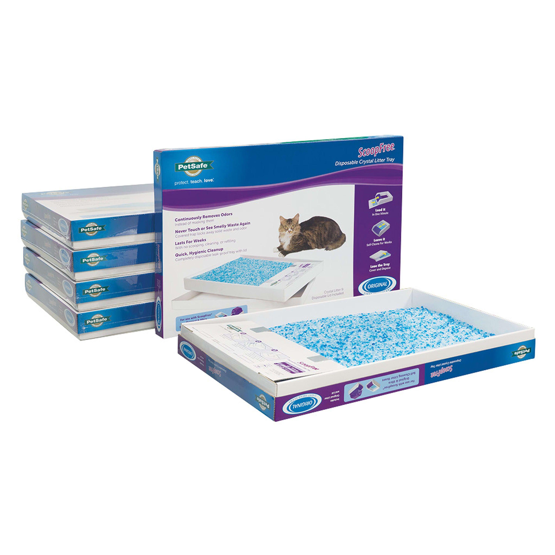 PetSafe ScoopFree Premium Blue Disposable Crystal Cat