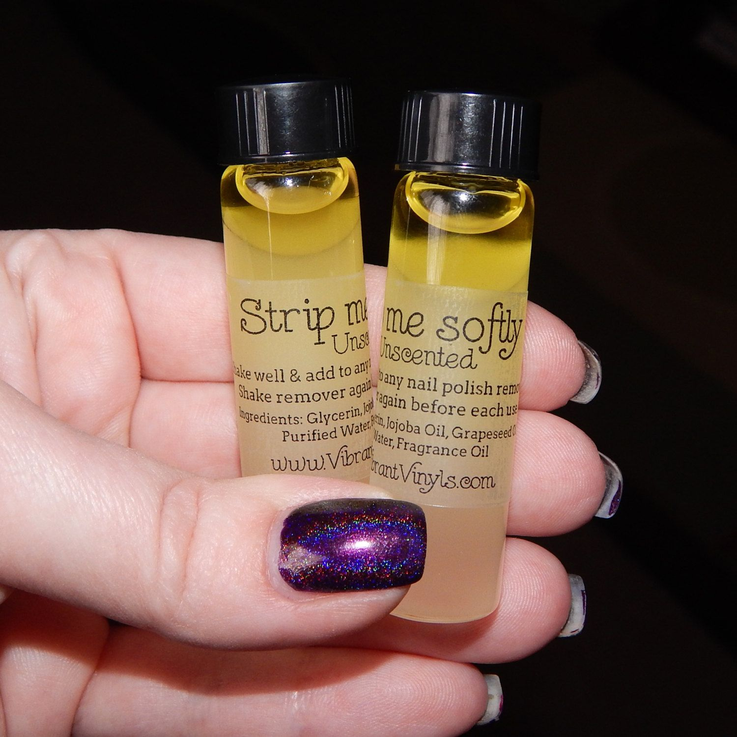 Strip Me Softly Add To Acetone Or Any Nail Polish Remover Nail