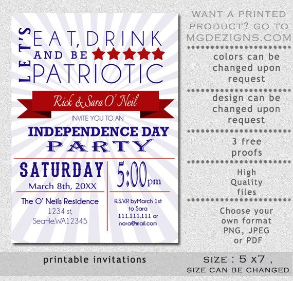 patriotic invitations templates koni polycode co