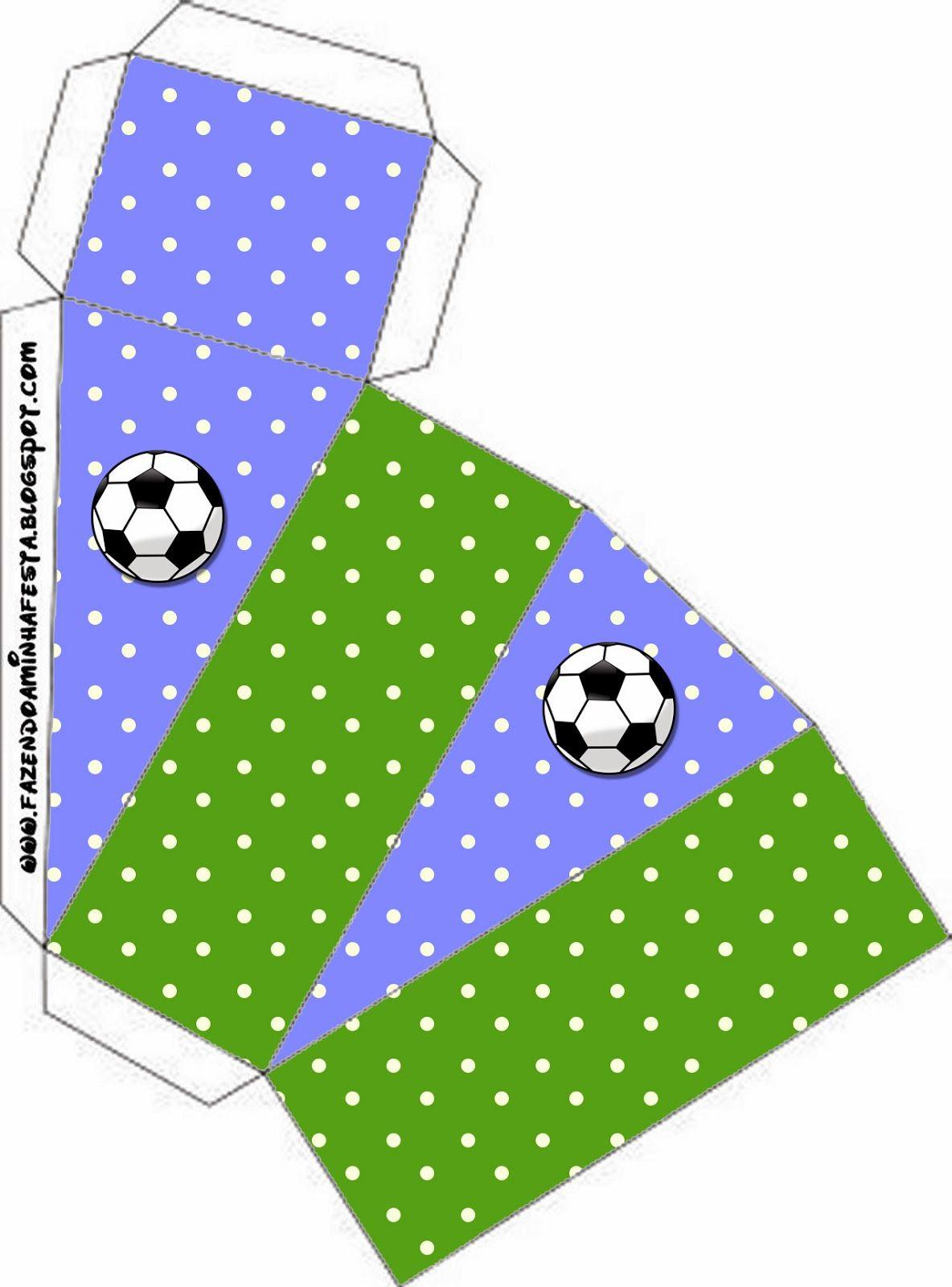 Fútbol  Cajas para Imprimir Gratis.  97d798111a89f