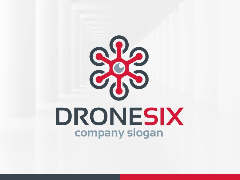 drone-six-logo-template.jpg (800×600) | Logo | Pinterest