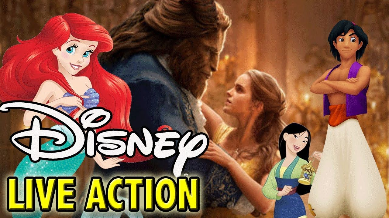 All Disney Live Action Movies Little Mermaid